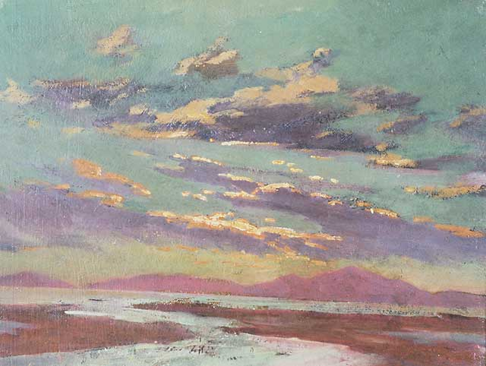 Sunset from Barmouth, Christopher Williams, 1913